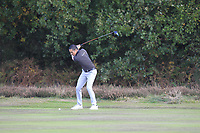 Carlos Pigem (ESP) on the 2nd during Round 3 of the Sky Sports British Masters at Walton Heath Golf Club in Tadworth, Surrey, England on Saturday 13th Oct 2018.<br /> Picture:  Thos Caffrey | Golffile