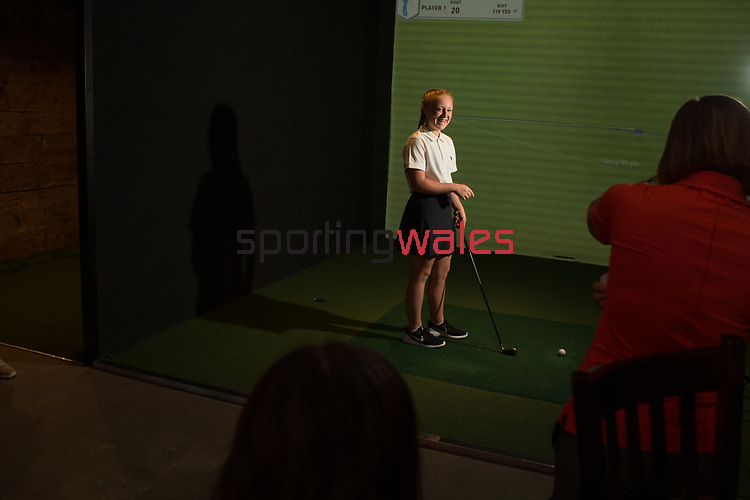 Wales Golf<br /> Girls Golf Day<br /> Bryn Meadows Golf Club<br /> 04.08.18<br /> &copy;Steve Pope<br /> Sportingwales