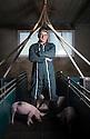 10/01/17 - LE ROUGET - CANTAL - FRANCE - Portrait de Jacques LAPEYRE - Photo Jerome CHABANNE