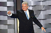 United States Representative Robert Brady (Democrat of Pennsylvania) arrives to make remarks at the 2016 Democratic National Convention at the Wells Fargo Center in Philadelphia, Pennsylvania on Monday, July 25, 2016.<br /> Credit: Ron Sachs / CNP<br /> (RESTRICTION: NO New York or New Jersey Newspapers or newspapers within a 75 mile radius of New York City)