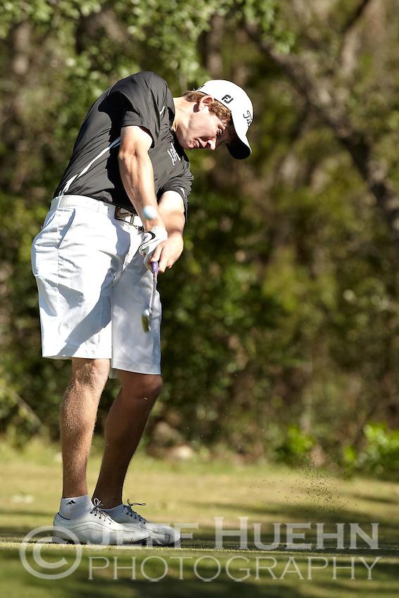 SAN ANTONIO, TX - OCTOBER 18, 2011: The University of Texas at San Antonio Roadrunners host the Lone Star Invitational Golf Tournament at the Briggs Ranch Golf Club. (Photo by Jeff Huehn)