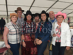 Aileen and Eddie Phelan, Jane Tobin, Ann Hayes, Gaz Byrne and Winnie McGuinness at the Barn Dance in St. Kevin's Community Centre Phillipstown.  Photo:Colin Bell/pressphotos.ie