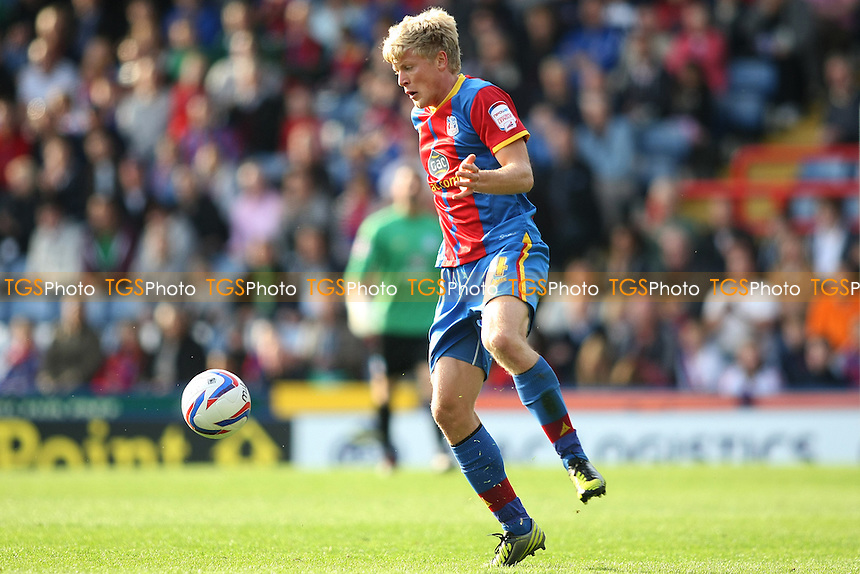 Jonathan Parr of Crysrtal Palace- Crystal Palace vs Cardiff City - NPower Championship Football at Selhurst Park, London - 22/09/12 - MANDATORY CREDIT: George Phillipou/TGSPHOTO - Self billing applies where appropriate - 0845 094 6026 - contact@tgsphoto.co.uk - NO UNPAID USE.