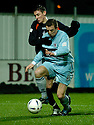 01/01/2005  Copyright Pic : James Stewart.File Name : jspa07_falkirk_v_raith-rovers.DAYRLL DUFFY AND DARREN BRADY CHALLENGE FOR THE BALL....Payments to :.James Stewart Photo Agency 19 Carronlea Drive, Falkirk. FK2 8DN      Vat Reg No. 607 6932 25.Office     : +44 (0)1324 570906     .Mobile   : +44 (0)7721 416997.Fax         : +44 (0)1324 570906.E-mail  :  jim@jspa.co.uk.If you require further information then contact Jim Stewart on any of the numbers above.........