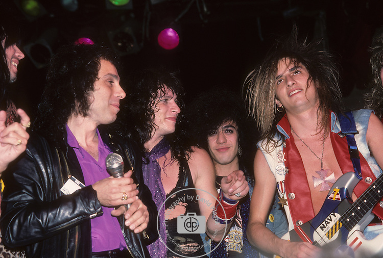 Ronnie James Dio, Paul Shortino, Jeff LaBar, Amir Derakh