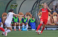 Portland, OR - Wednesday June 28, 2017: Dagný Brynjarsdóttir during a regular season National Women's Soccer League (NWSL) match between the Portland Thorns FC and FC Kansas City at Providence Park.