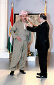Iraq 2010 <br /> In Erbil, Masoud Barzani giving the medal Barzani to Mirkhan Mohamedamin  <br /> Irak 2010 Masoud Barzani decorant Mirkhan Mohamedamin de la medaille Barzani a Erbil