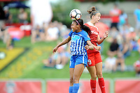 Boyds, MD - Saturday August 12, 2017: Margaret Purce, Havana Solaun during a regular season National Women's Soccer League (NWSL) match between the Washington Spirit and The Boston Breakers at Maureen Hendricks Field, Maryland SoccerPlex.