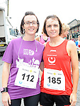 Elva and Phillipa Donnelly who ran the Dunleer 4 mile run. Photo: Colin Bell/pressphotos.ie