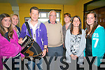 The Tom Dunne show broadcast live from Dr Crokes last Friday to celebrate the Kerry v Mayo game. .L-R Amy O'Shea, Frances O'Sullivan, Liam O'Connor, John Keogh, Marian O'Doherty, Deborah O'Shea and Leah O'Shea.