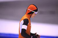 SCHAATSEN: HEERENVEEN: 01-02-2014, IJsstadion Thialf, Olympische testwedstrijd, Marrit Leenstra, ©foto Martin de Jong