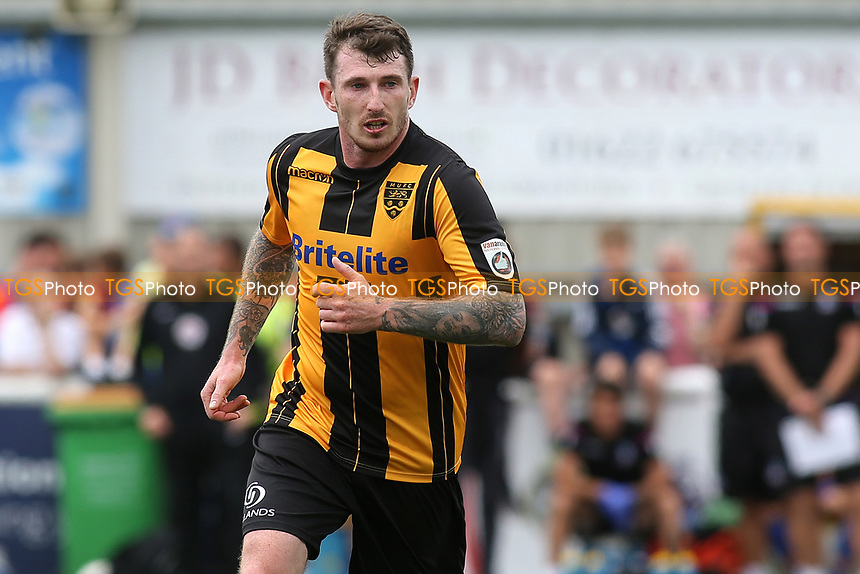 Reece Prestedge of Maidstone United during Maidstone United  vs Crystal Palace, Friendly Match Football at the Gallagher Stadium on 15th July 2017