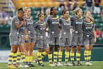 27 August 2011: Philadelphia's players during the penalty shootout. Western New York Flash defeated the Philadelphia Independence 5-4 on penalty kicks to win the final after the game ended in a 1-1 tie after overtime at Sahlen's Stadium in Rochester, New York in the Women's Professional Soccer championship game.