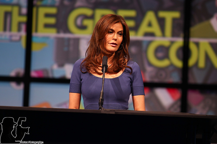 April 16-2012 NAB opening Session keynote with Stephen Dubnerr, Teri Hatcher, Dan May, and NAB CEO Gordon Smith