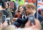 08.03.2018; Birmingham, England: MEGHAN MARKLE AND PRINCE HARRY VISIT BIRMINGHAM<br /> to attend an event at Millennium Point to celebrate International Women's Day.<br />They are to be married on 19th May 2018 at Windsor Castle.<br />Mandatory Photo Credit: &copy;NEWSPIX INTERNATIONAL<br /><br />IMMEDIATE CONFIRMATION OF USAGE REQUIRED:<br />Newspix International, 31 Chinnery Hill, Bishop's Stortford, ENGLAND CM23 3PS<br />Tel:+441279 324672  ; Fax: +441279656877<br />Mobile:  07775681153<br />e-mail: info@newspixinternational.co.uk<br />Usage Implies Acceptance of Our Terms &amp; Conditions<br />Please refer to usage terms. All Fees Payable To Newspix International