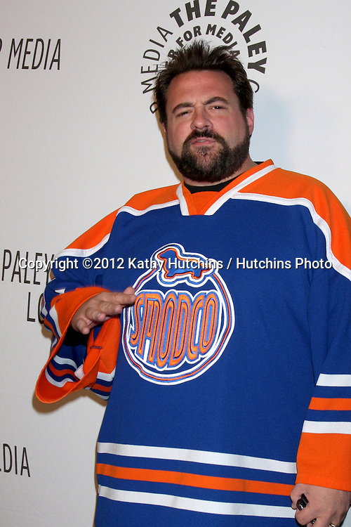 LOS ANGELES - OCT 22:  Kevin Smith arrives at  the Paley Center for Media Annual Los Angeles Benefit at The Lot on October 22, 2012 in Los Angeles, CA