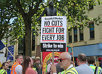 Cardiff, UK. Thursday 10 July 2014<br />