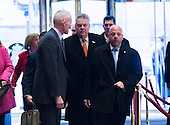 United States Representative Peter King (Republican of New York) is seen in the lobby of Trump Tower in New York, NY, USA upon his arrival on December 15, 2016.<br /> Credit: Albin Lohr-Jones / Pool via CNP