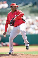 Cueto, Johnny 6780.jpg. Spring Training. Cincinnati Reds at Houston Astros. Spring Training Game. Friday March 20th, 2009 in Kissimmee., Florida. Photo by Andrew Woolley.