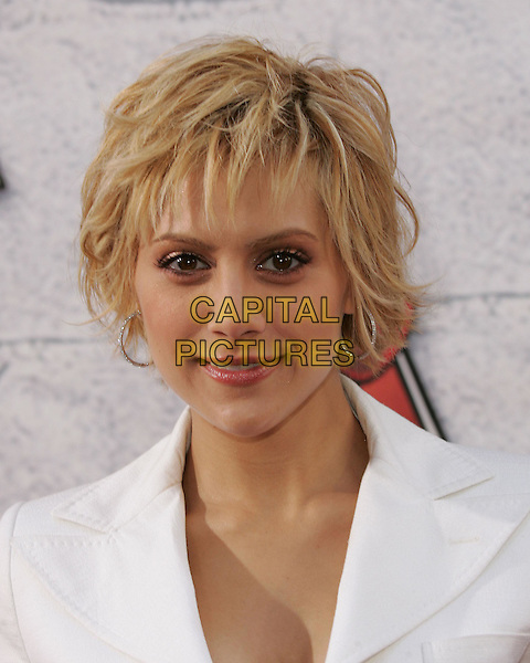 BRITTANY MURPHY.at the 2004 MTV Movie Awards held at The Sony Picture Studios in Culver City, .California,.6th June 2004..portrait headshot white suit.*UK sales only*.www.capitalpictures.com.sales@capitalpictures.com.©Capital Pictures