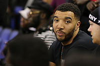 17th January 2019, The O2 Arena, London, England; NBA London Game, Washington Wizards versus New York Knicks; Troy Deeney of Watford is court side