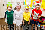 "First class in Moyderwell school getting ready for their ""Children of the World"" Christmas  play on Wednesday morning, l-r Alex Kerrins, Kelly O'Sullivan, Faith Edwards and Jo Jo O'Connor."