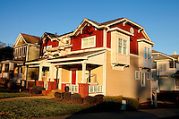 Part of a photography collection showing the variety of architectural styles of homes, apartments and condos in metropolitan Charlotte, NC.
