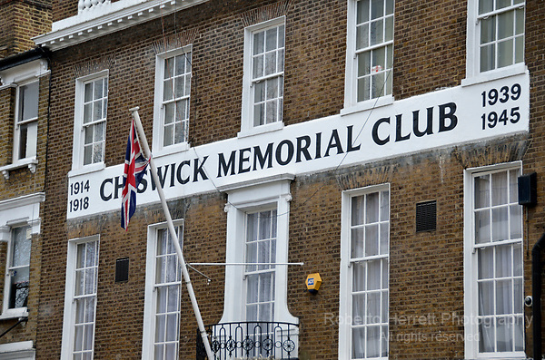Chiswick Memorial Club, London, UK.