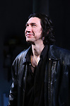 "Adam Driver during the Broadway Opening Night Curtain Call for Landford Wilson's ""Burn This""  at Hudson Theatre on April 15, 2019 in New York City."