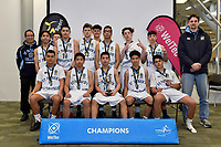 Basketball &ndash; CSW Senior Finals at ASB Sports Centre, Wellington, New Zealand on Friday 1 September 2017.<br /> Photo by Jo Hawes. <br /> www.photowellington.photoshelter.com