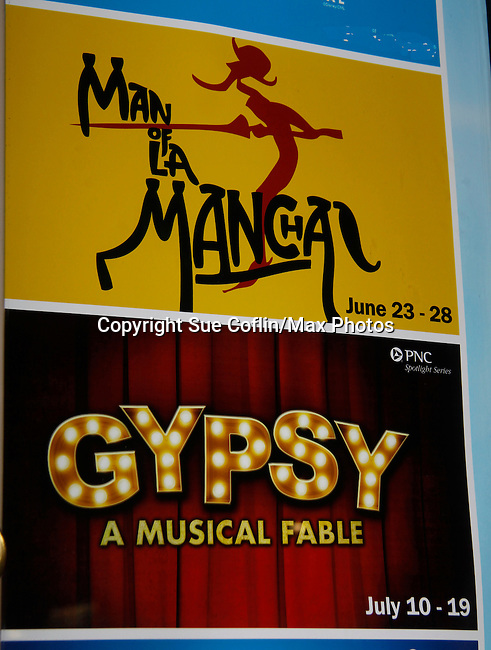 """Guiding Light's Ron Raines starred in Man of La Mancha at the end of June and at the same theatre  Kim Zimmer """"Rose"""" and Robert Newman """"Herbie"""" star in Gypsy on July 14, 2015 at Pittsburgh CLO Theatre, Pittsburgh, PA. (Photos by Sue Coflin/Max Photos)"""