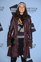 Jasmine Hemsley<br /> at the launch of the Skate at Somerset House ice rink, London.<br /> <br /> ©Ash Knotek  D3199  16/11/2016