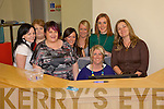 Staff of the new play school in causeway pictured at the reception desk in the preschool room Patricia Comerford, (childcare assistant), Fiona Flynn (childcare assistant, Helen O'Leary, (Manager), Zoe McEvoy Goggin (preschool)..  back Tara White (Creche Supervisor), Tracey Whyte (childcare assistant), Louise Corridon (Childcare assistant) and Catrion Begley (childcare assistant).   Copyright Kerry's Eye 2008