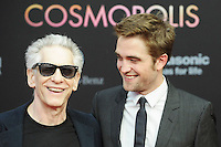"Robet Pattinson and David Cronenberg attending ""Cosmopolis"" Premiere at Kino International in Berlin, 31.05.2012...Credit: SEKA/face to face /MediaPunch Inc. ***FOR USA ONLY***"