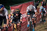 eventual race winner Mathieu van der Poel (NED/Corendon-Circus)<br /> <br /> Elite Men's Race<br /> GP Mario De Clercq / Hotond cross 2018 (Ronse, BEL)