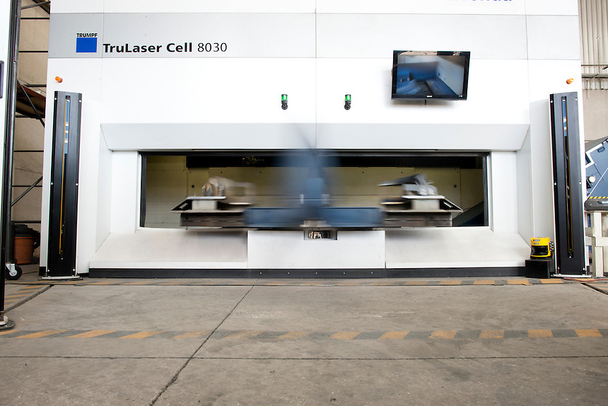 TRUMPF machines at Superlaser and Fixtures, Puebla, Mexico.