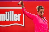 Women's discus winner Sandra Perkovic of Croatia during the Muller Grand Prix Birmingham Athletics at Alexandra Stadium, Birmingham, England on 20 August 2017. Photo by Andy Rowland.