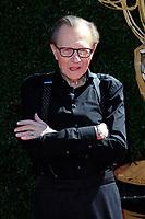 PASADENA - APR 30: Larry King at the 44th Daytime Emmy Awards at the Pasadena Civic Center on April 30, 2017 in Pasadena, California