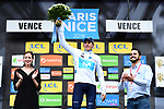 Marc Soler (ESP) Movistar Team retains the young riders White Jersey at the end of Stage 6 running 198km from Sisteron to Vence, France. 9th March 2018.<br /> Picture: ASO/Alex Broadway | Cyclefile<br /> <br /> <br /> All photos usage must carry mandatory copyright credit (&copy; Cyclefile | ASO/Alex Broadway)