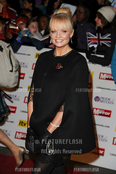 Emma Bunton arriving for the 2010 Pride Of Britain Awards, at the Grosvenor House Hotel, London. 08/11/2010  Picture by: Steve Vas / Featureflash