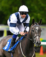 Bella Vita ridden by Charles Bishop goes down to the start of The British Stallion Studs EBF Margadale Fillies' Handicap during Evening Racing at Salisbury Racecourse on 11th June 2019