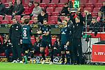 04.11.2018, Opel-Arena, Mainz, GER, 1 FBL, 1. FSV Mainz 05 vs SV Werder Bremen, <br /> <br /> DFL REGULATIONS PROHIBIT ANY USE OF PHOTOGRAPHS AS IMAGE SEQUENCES AND/OR QUASI-VIDEO.<br /> <br /> im Bild: Wechsel Claudio Pizarro (SV Werder Bremen #4) fuer Yuya Osako (#8, SV Werder Bremen)<br /> <br /> Foto © nordphoto / Fabisch
