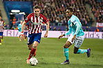 Atletico de Madrid's Saul Niguez and PSV Eindhoven's Joshua Brenet during UEFA Champions League match. March 15,2016. (ALTERPHOTOS/Borja B.Hojas)