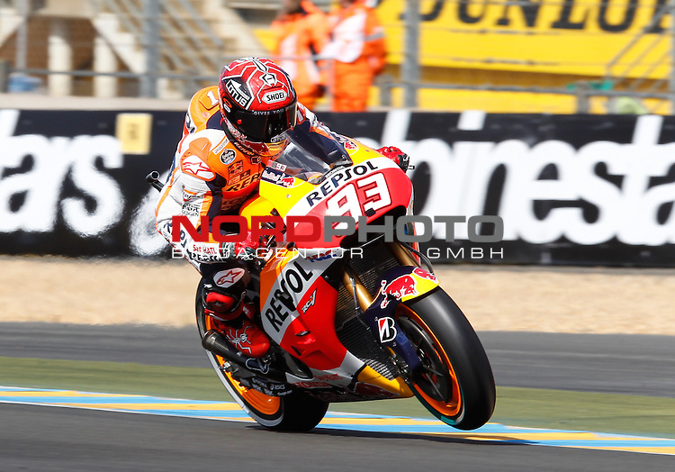 Monster Energy Grand Prix de France in Le Mans 14.-17.05.2015, Free Practice<br /> <br /> 93  Marc M&aacute;rquez / Spanien<br /> <br /> Foto &copy; nordphoto / FSA