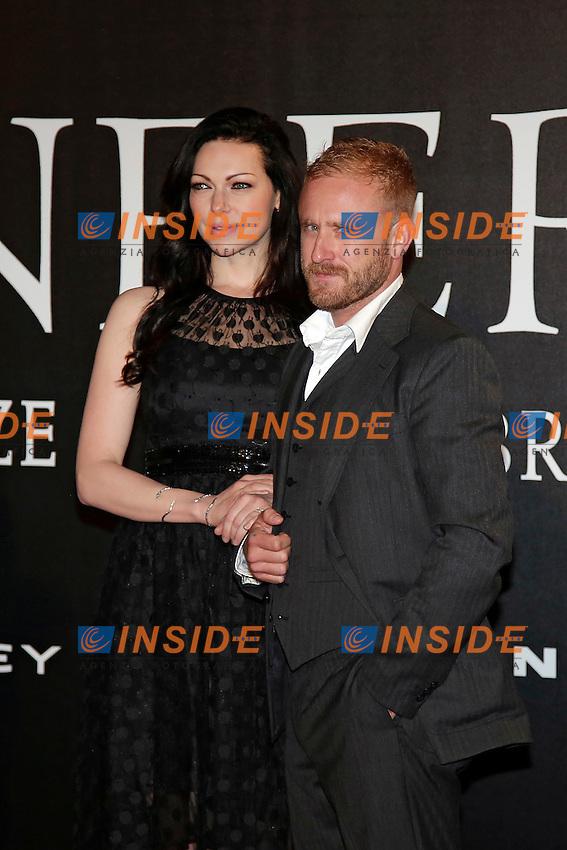 Laura Prepon and Ben Foster<br /> Firenze 08-10-2016. 'Inferno' Anteprima Mondiale.<br /> Florence 8th October 2016. 'Inferno' World Premiere.<br /> Foto Samantha Zucchi Insidefoto