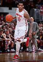 Ohio State Buckeyes forward LaQuinton Ross (10) competes during Friday's NCAA Division I basketball game against the Louisiana-Monroe Warhawks at Value City Arena in Columbus on December 27, 2013. Ohio State won the game 71-31. (Barbara J. Perenic/The Columbus Dispatch)