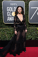 Catherine Zeta Jones attends the 75th Annual Golden Globes Awards at the Beverly Hilton in Beverly Hills, CA on Sunday, January 7, 2018.<br /> *Editorial Use Only*<br /> CAP/PLF/HFPA<br /> &copy;HFPA/Capital Pictures