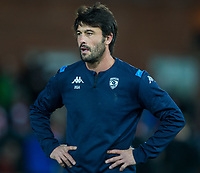 Montpellier's Head Coach Xavier Garbajosa<br /> <br /> Photographer Bob Bradford/CameraSport<br /> <br /> European Rugby Heineken Champions Cup Group E - Gloucester v Montpellier Herault Rugby - Saturday 11th January 2020 - Kingsholm Stadium - Gloucester<br /> <br /> World Copyright © 2019 CameraSport. All rights reserved. 43 Linden Ave. Countesthorpe. Leicester. England. LE8 5PG - Tel: +44 (0) 116 277 4147 - admin@camerasport.com - www.camerasport.com