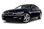 Stock pictures of low aggressive front three quarter view of a 2015 BMW SERIES 4 M Sport 2WD AT 5 Door Hatchback 2WD Low Aggressive