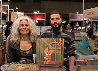 Sonia Sarfati<br /> <br />  at montreal book fair, November 2015,<br /> <br /> <br /> PHOTO : Philippe Manh Nguyen - Agence Quebec Presse